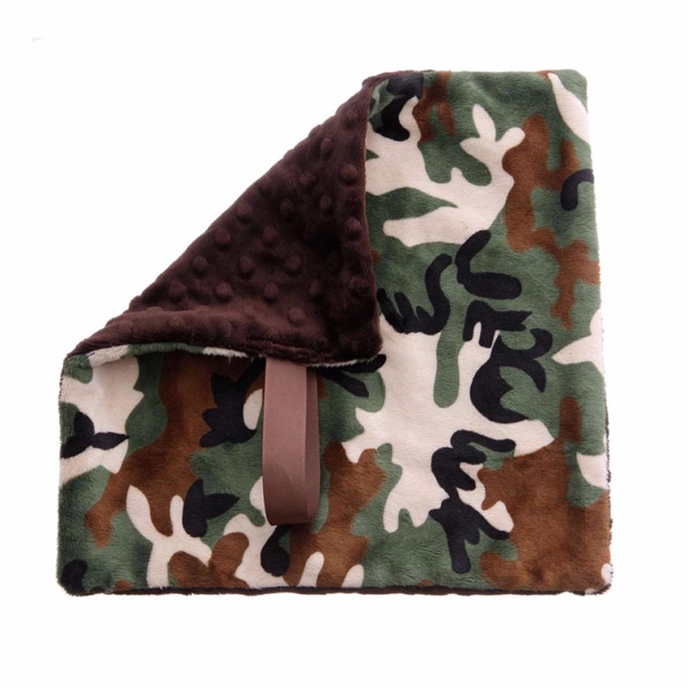 BbEmerald Pacifier Blanket - Camo