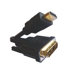 Offex HDMI Male To DVI Male Single Link - 2 Meters (6.6 Feet) - Adapts DVI To HDMI Or Vice Versa