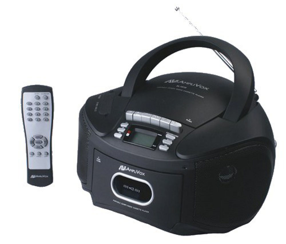 AmpliVox SL1010 Boombox - Top Loading CD Player With AM/FM Stereo Tuner And LED Display at Sears.com