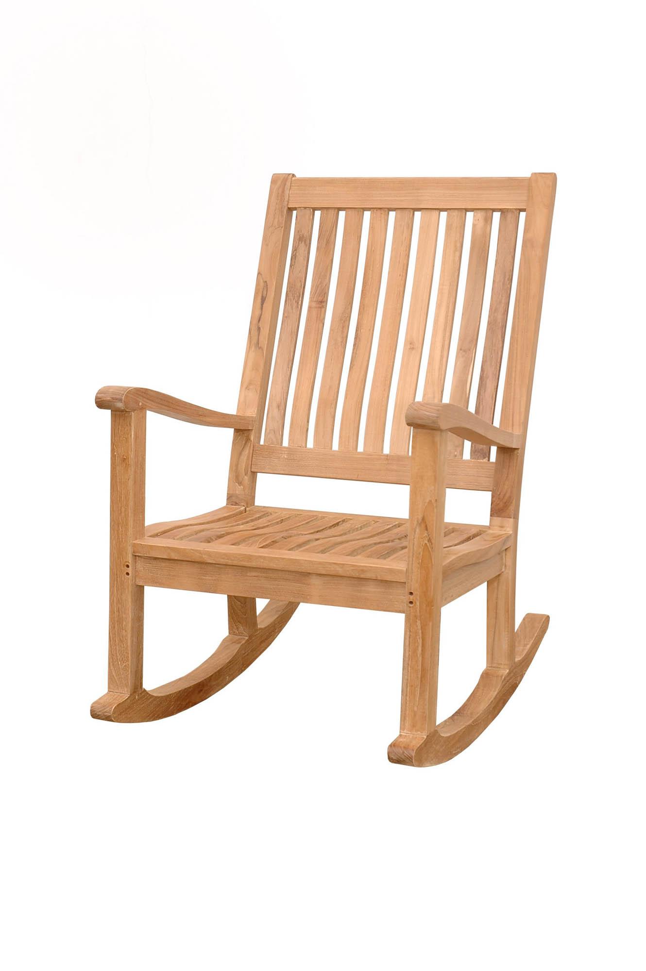 Anderson Teak Patio Lawn Garden Furniture Del Amo Rocking Armchair EBay
