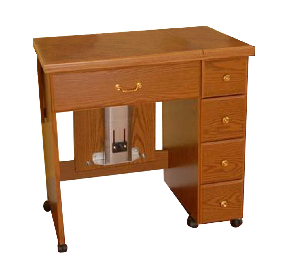Arrow Sewing Cabinet Auntie Sewing Table With Shelves