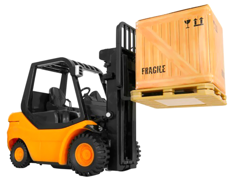 """Azimporter 1/20 8\"""" 6 Functions Rc Mini Forklift Truck Remote Control With Lifting Arm Toy Vehicle at Sears.com"""