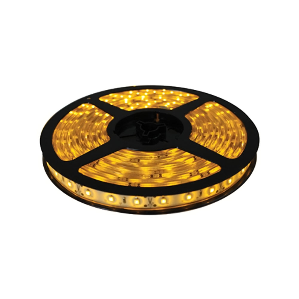 Brilliant Brand Lighting Seasonal Decoration Yellow Brilliant BrandLED Strip Light SMD-3528 12-Volt 16.4' Spool Waterproof IP67 at Sears.com
