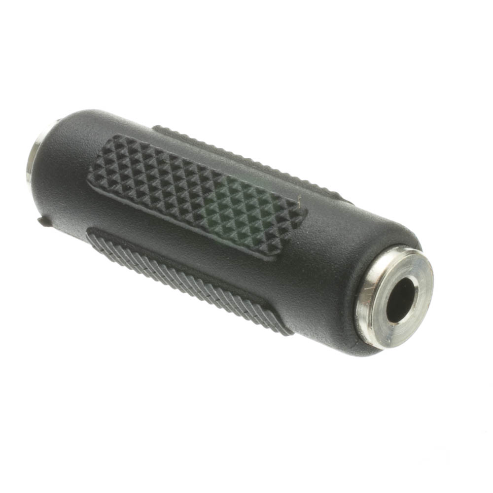 Offex Wholesale 3.5mm Stereo Coupler, Female / Female