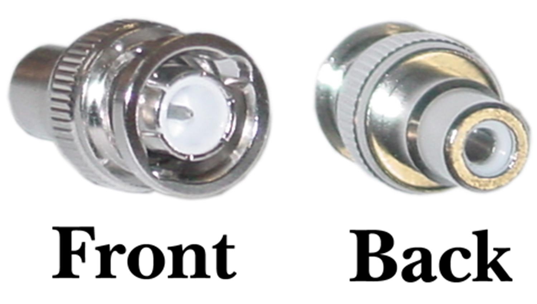 Offex Wholesale BNC Male / RCA Female Adaptor