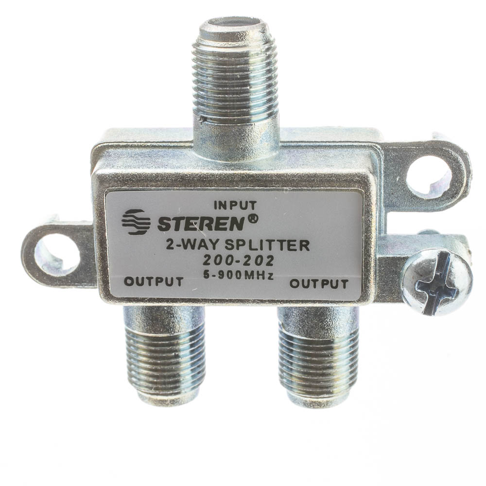 Offex Wholesale F-Pin (Coax) Splitter, 2-Way