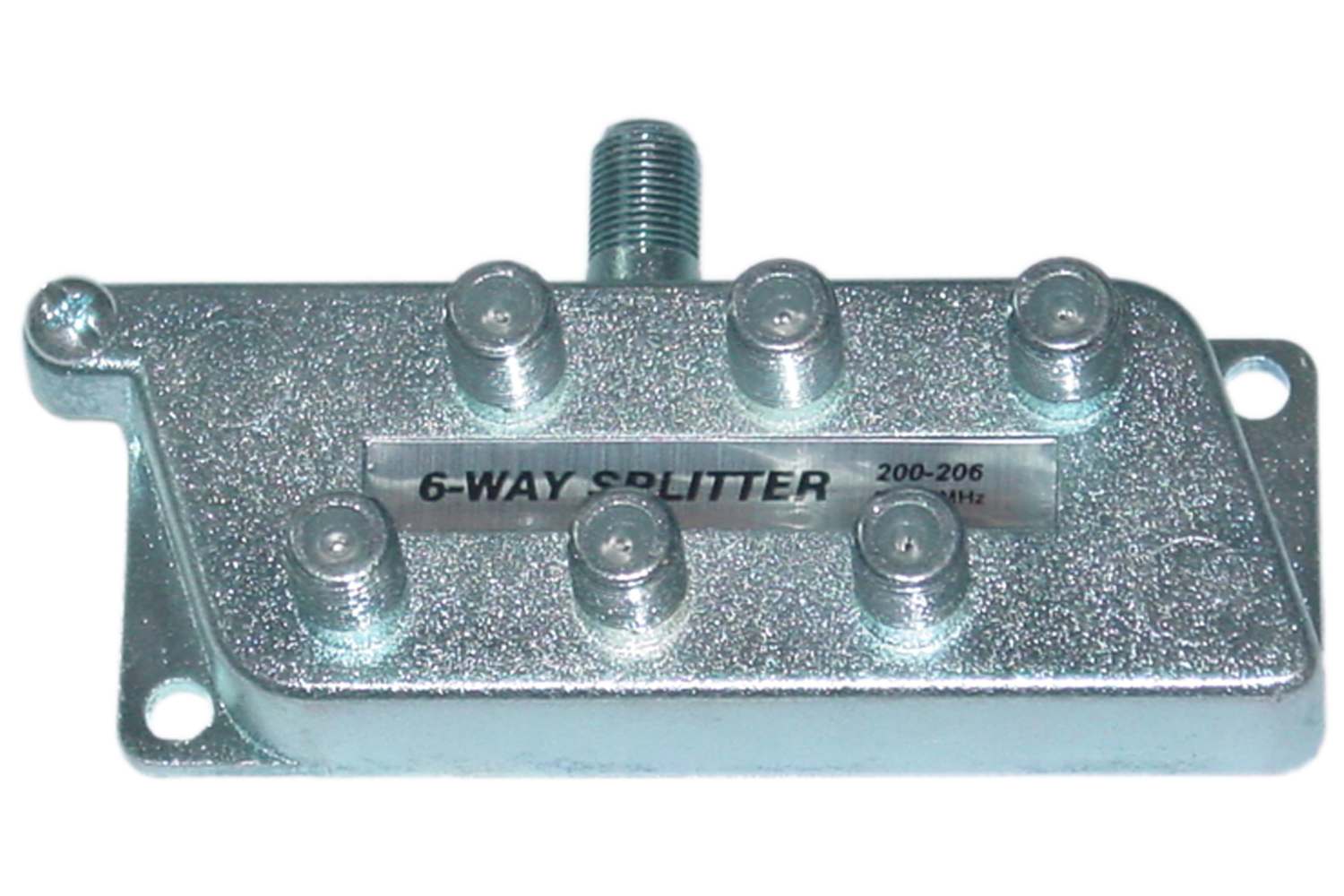 Offex Wholesale F-Pin (Coax) Splitter, 6-Way [Electronics]
