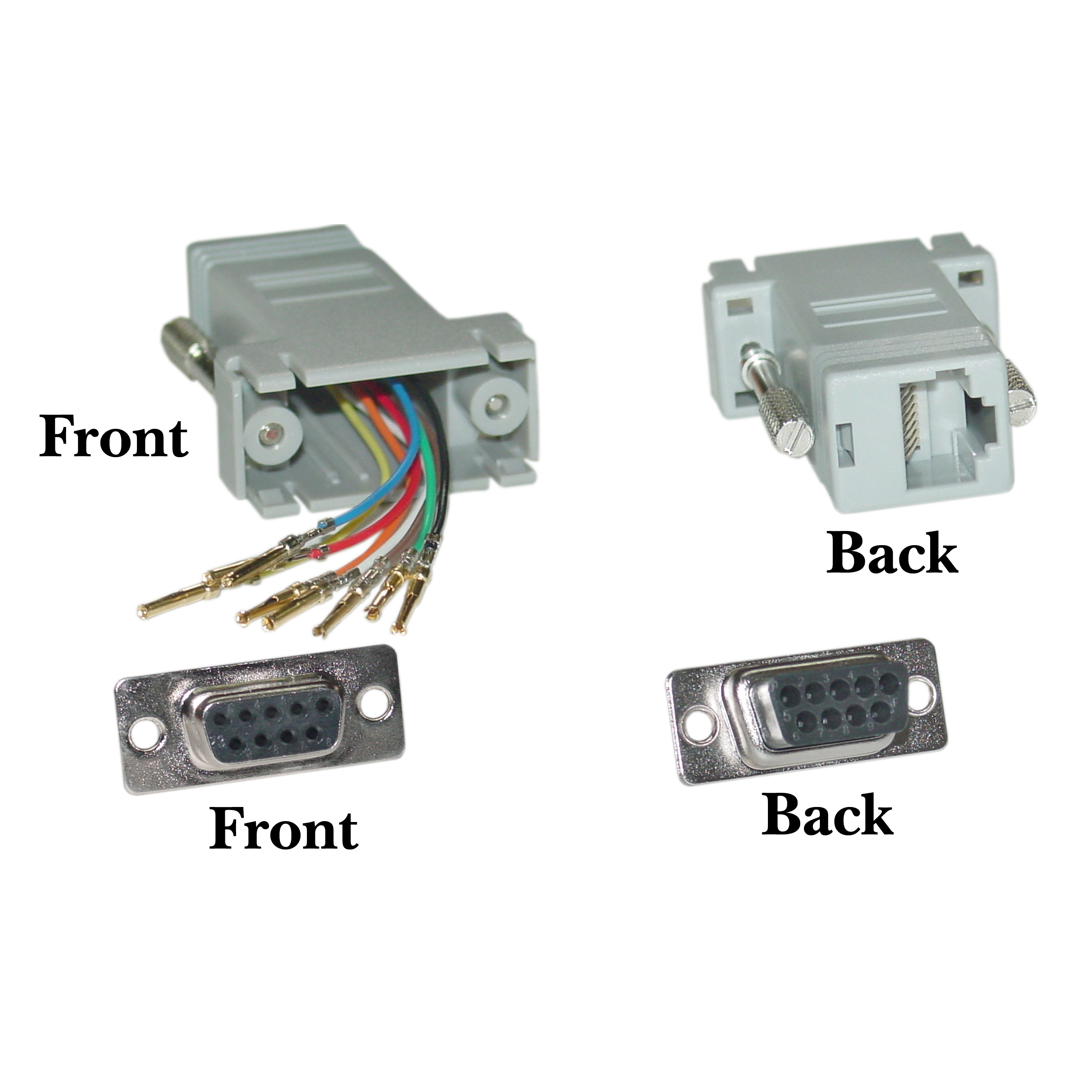 Dropship Clickhere2shop Rj45 Wiring Diagram Wiki Also Furthermore Power Offex Wholesale Db9 Female Color Gray