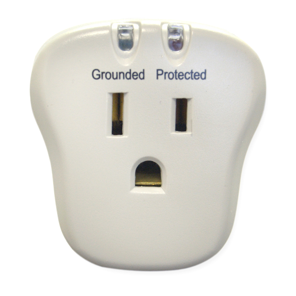 Offex Wholesale Surge Protector 1 Outlet Plug, 540 Joules With EMI/RFI filter