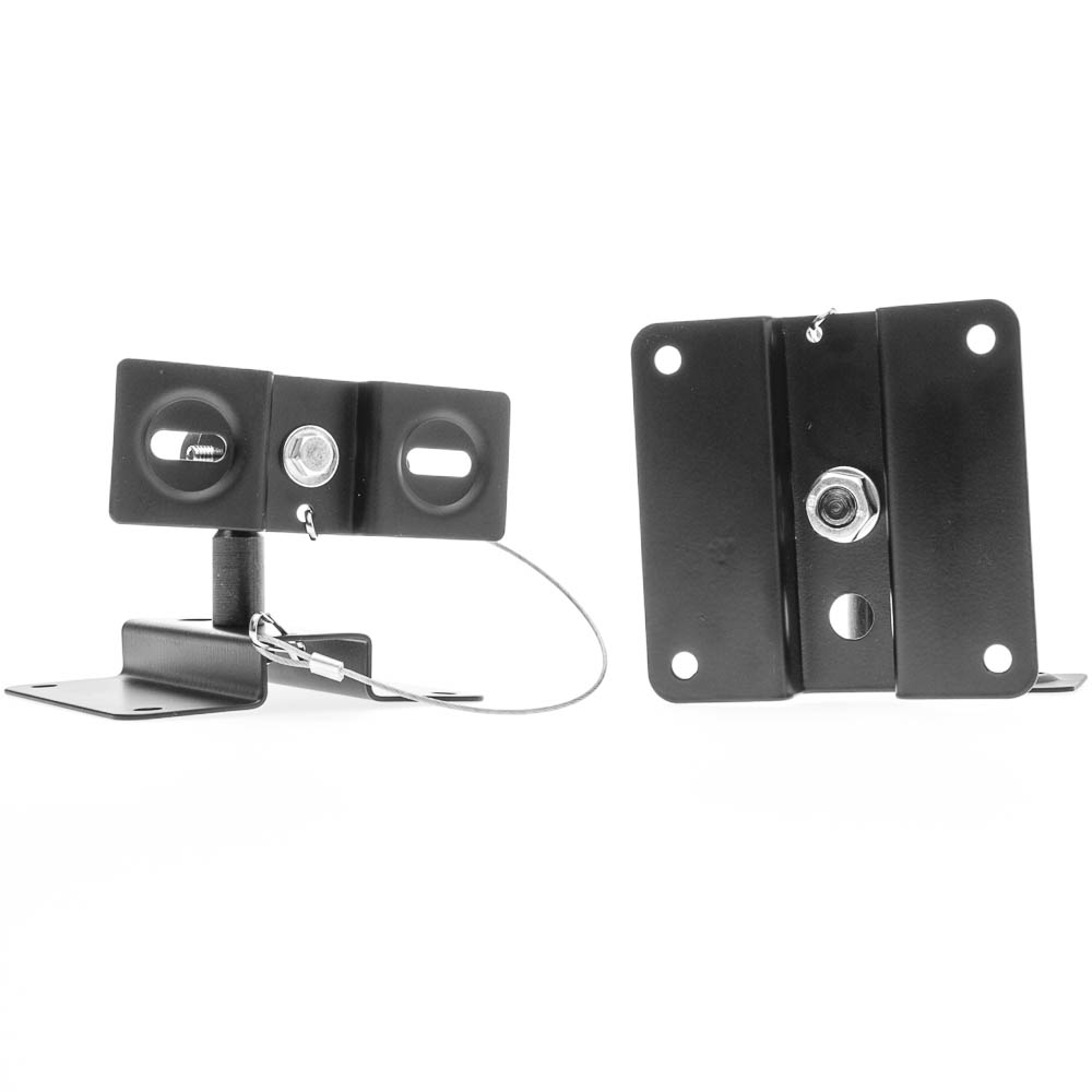 Offex Wholesale Speaker Mount (2pc/set), Black Metal