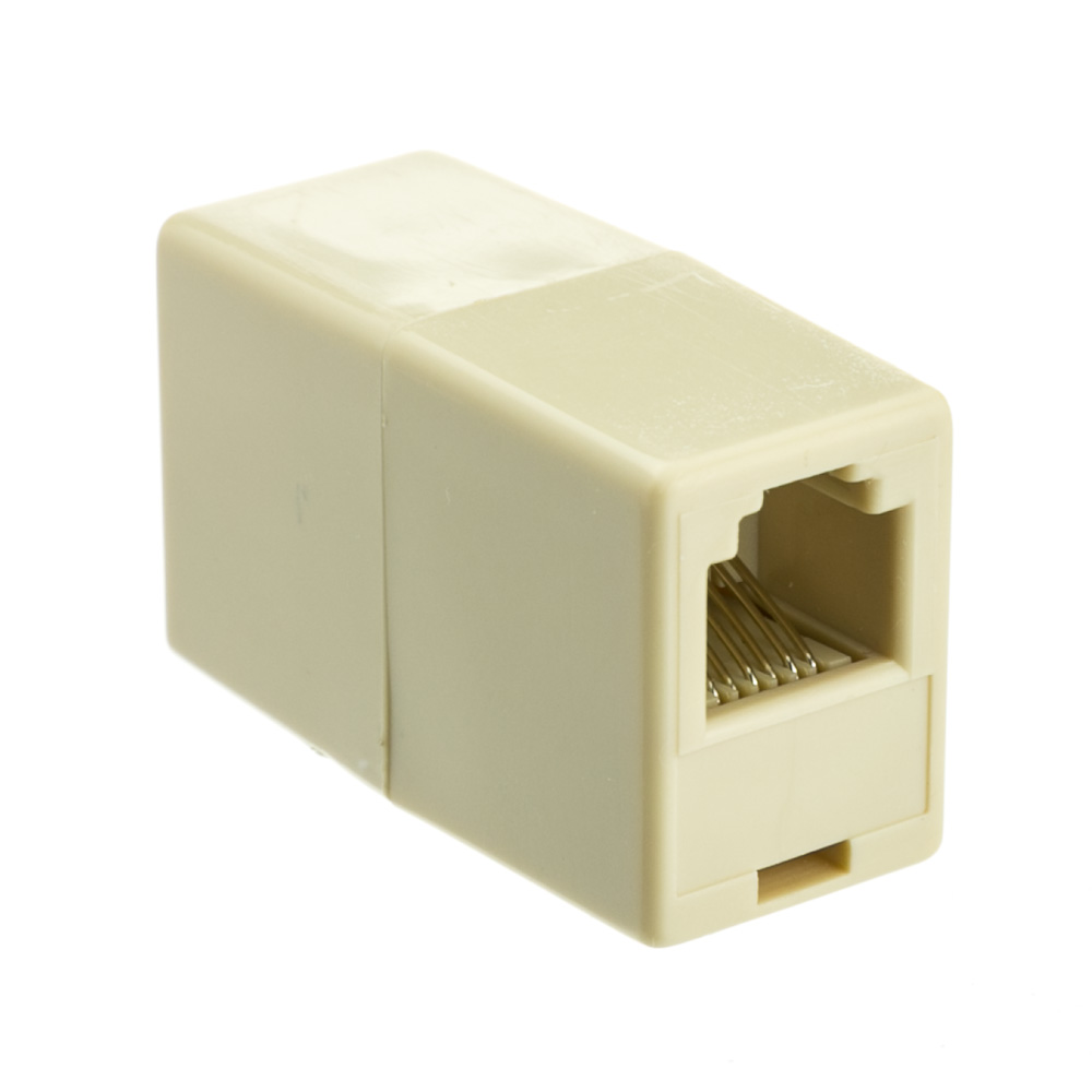 Offex Wholesale Rj11 / Rj12, 6P6C, (Straight) Telephone Inline Coupler
