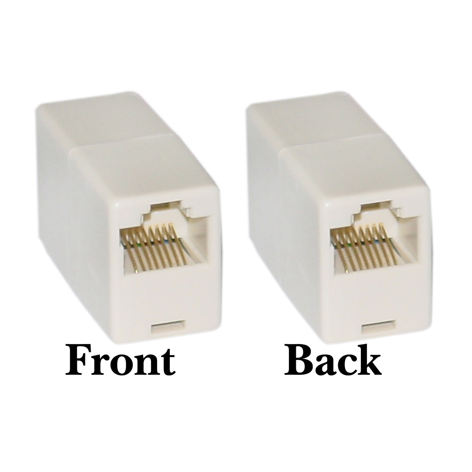 Offex Wholesale RJ45, 8P8C, (Straight) Telephone Inline Coupler