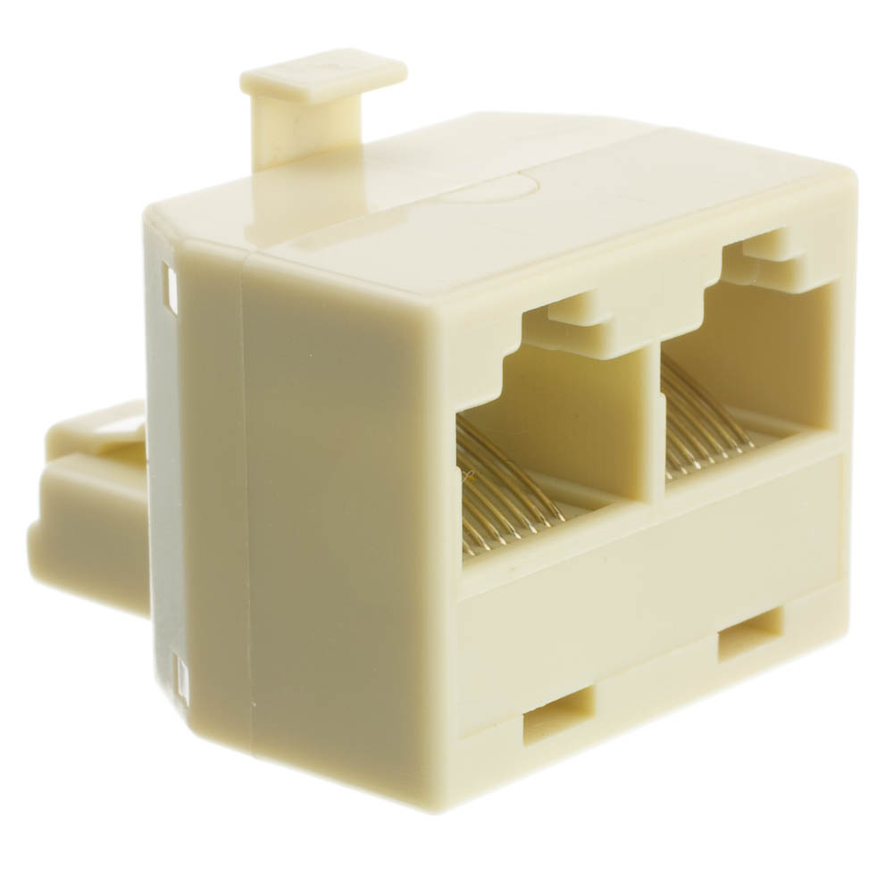 Offex Wholesale RJ45, 8P8C (Straight) T-Adaptor