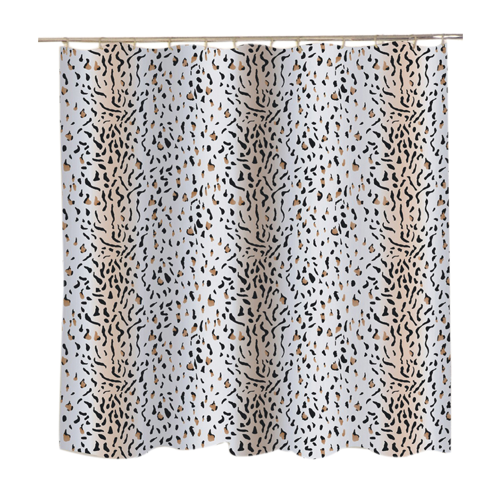 Carnation Home Fashions Extra Wide Hailey Fabric Shower Curtain Ebay