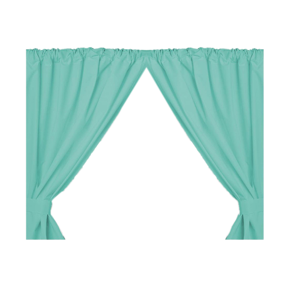 Carnation Home Fashions Home Indoor Fashions Vinyl Window Curtain in Jade at Sears.com