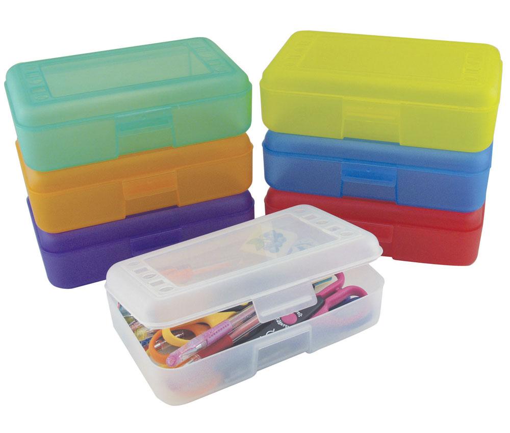 Ecr4Kids School Pencil Box And Craft Storage Box | eBay