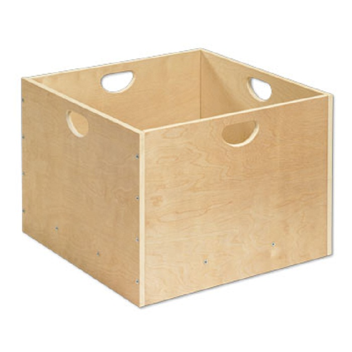 Offex Solid Hardwood Block Tub Natural