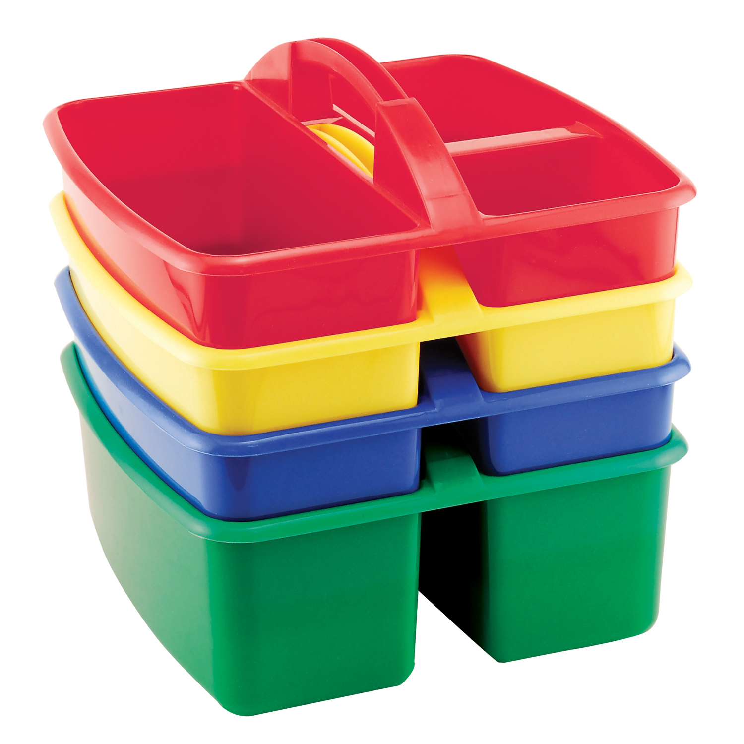 Ecr4kids 4 Piece Small Art Caddy Assorted 3 Pack