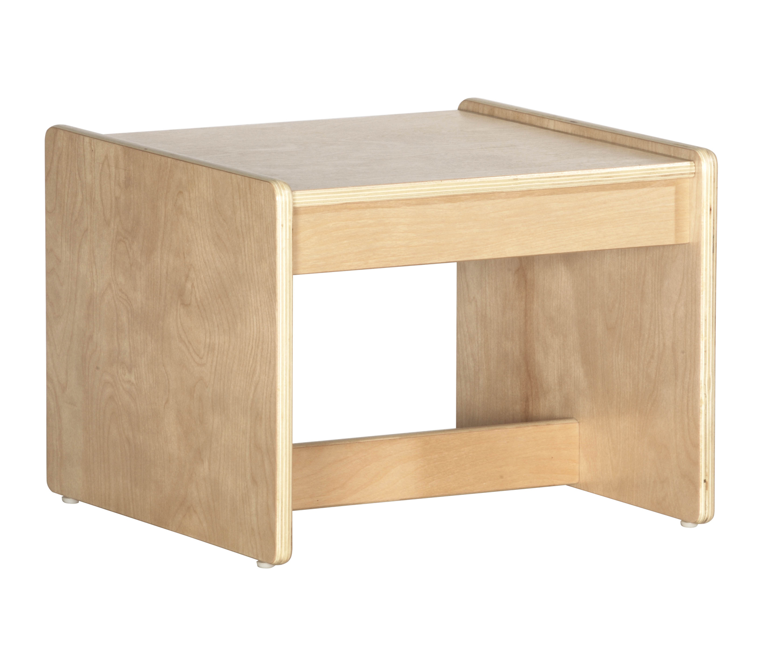 Offex Children Home School Comfortable Birch End Table