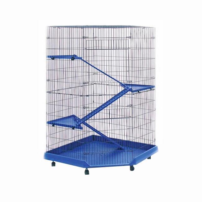 Prevue Hendryx Corner Ferret 3 Ramps Small Animal Pet Cage ...