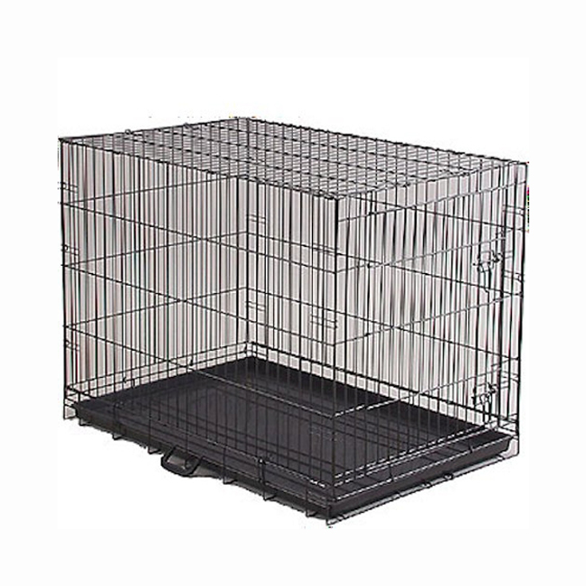 Prevue hendryx economy dog crate portable folding suitcase for Extra large portable dog kennel