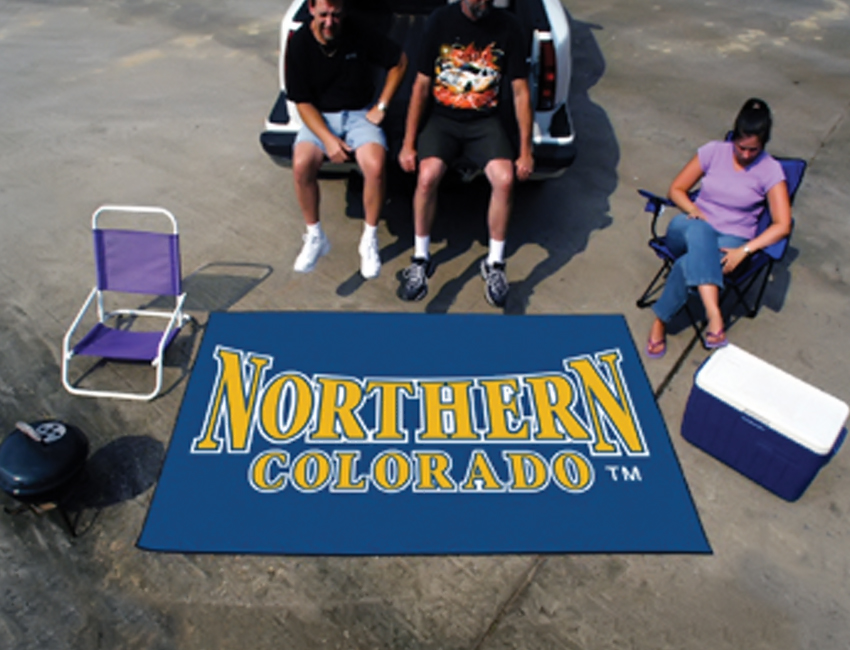 "Fanmats Ncaa College Sports Team Athletic Outdoor Tailgating Party Nylon Area Rug Rug Univ of Northern Colorado Floor Ulti-Mat 60""x96"" at Sears.com"