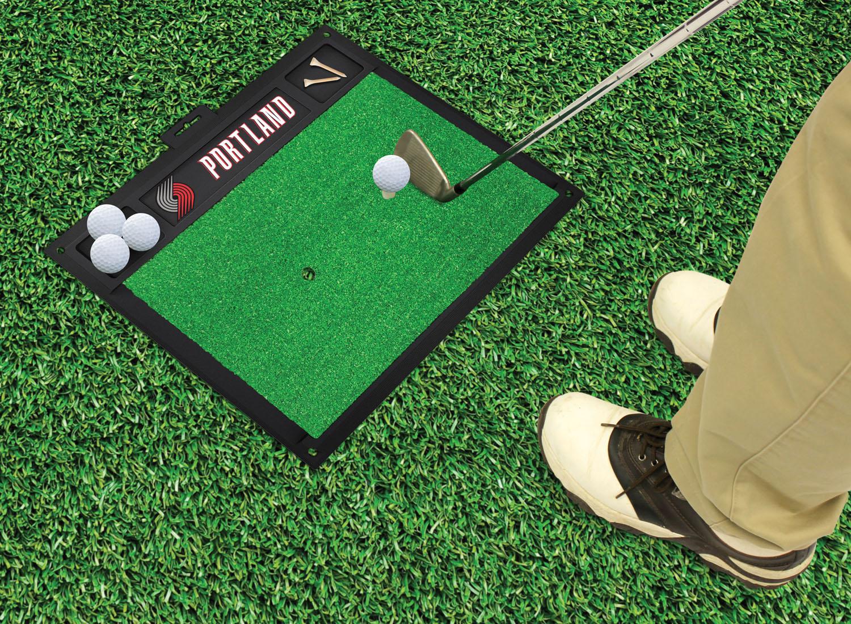 """Fanmats Portland Trail Blazers Golf Hitting Mat 20\"""" x 17\"""" at Sears.com"""