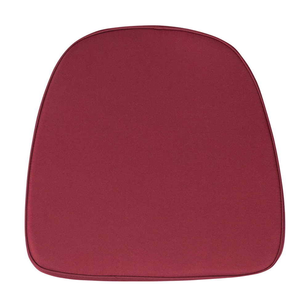 Offex Soft Burgundy Fabric Chiavari Chair Cushion [BH-BURG-GG]