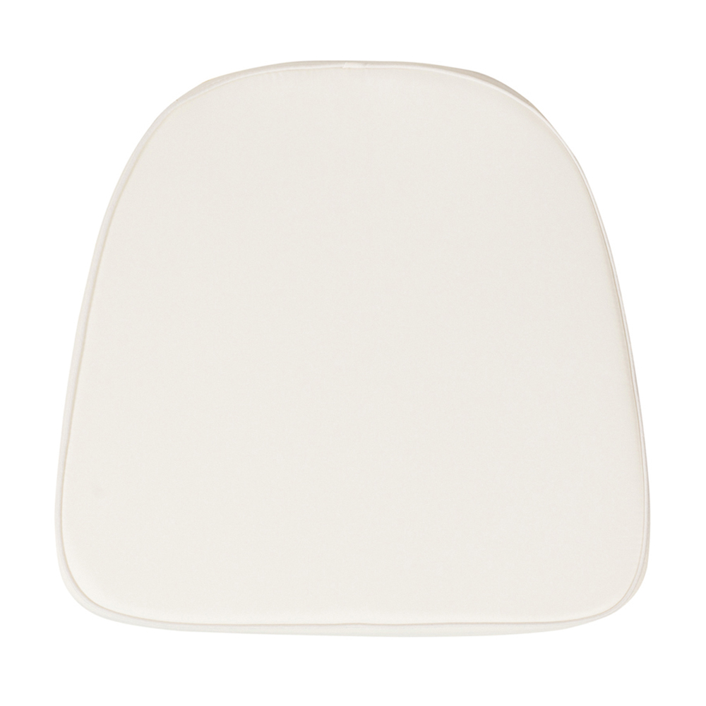 Offex Soft Ivory Fabric Chiavari Chair Cushion [BH-IVORY-GG]