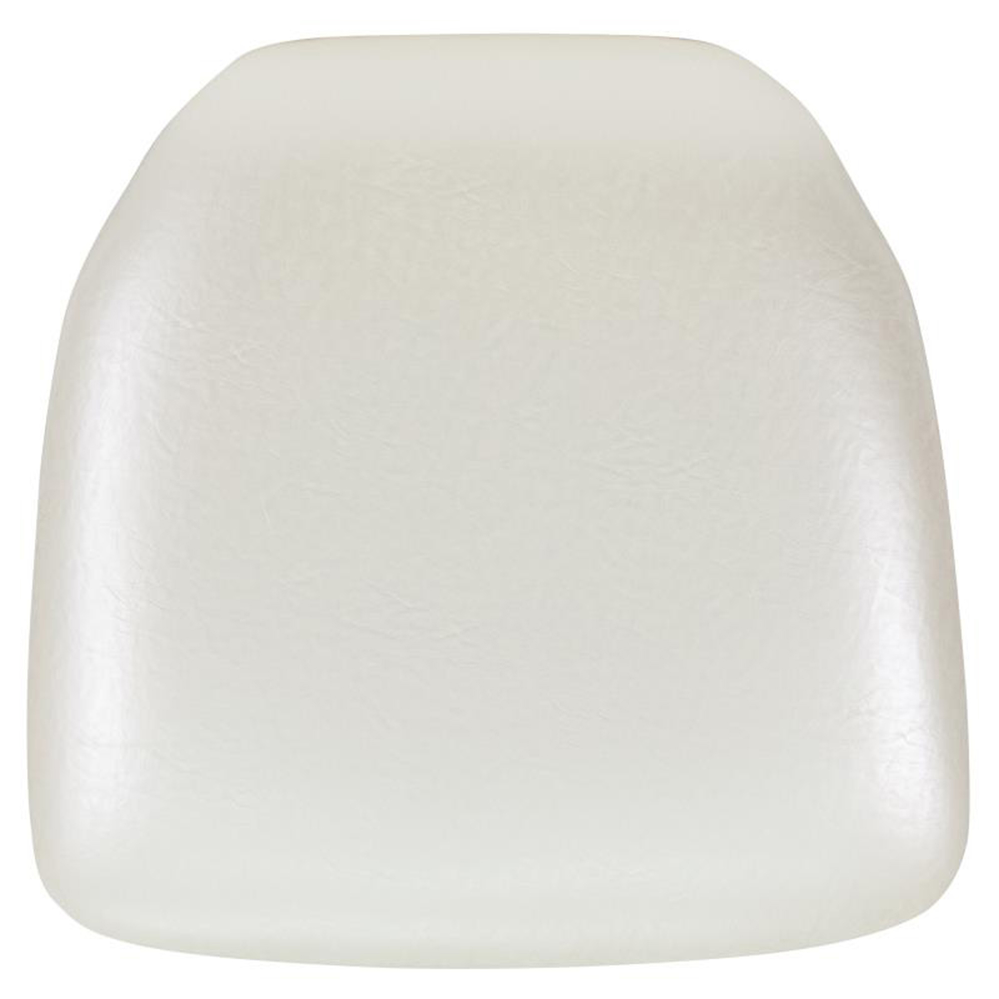 Offex Hard Ivory Vinyl Chiavari Chair Cushion [BH-IVORY-HARD-VYL-GG]
