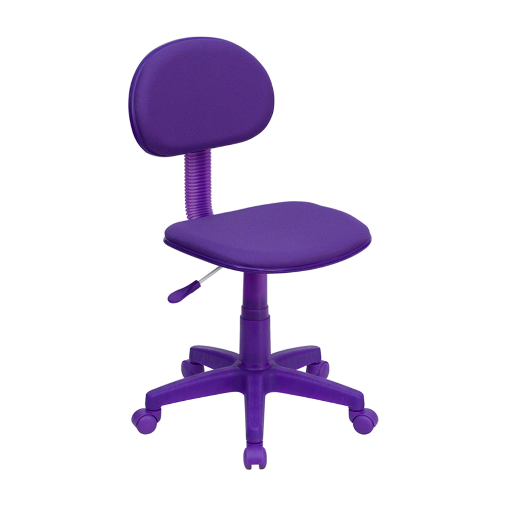 Offex Purple Fabric Ergonomic Task Chair