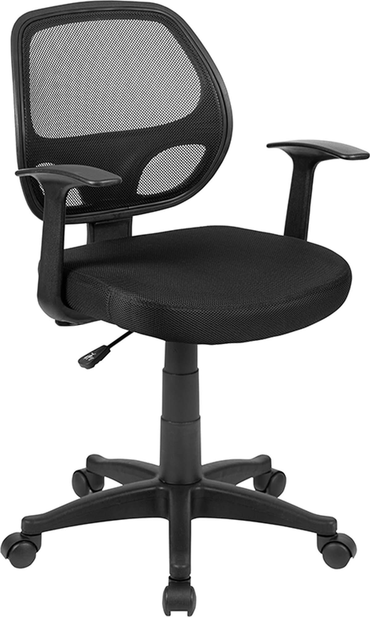 Offex Mid-Back Black Mesh Computer Chair