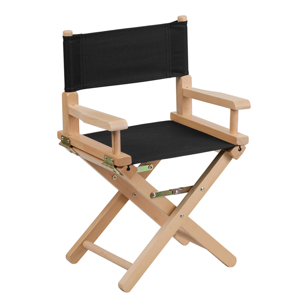 Offex Kid Size Directors Chair in Black