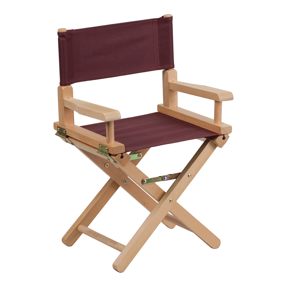 Offex Kid Size Directors Chair in Brown