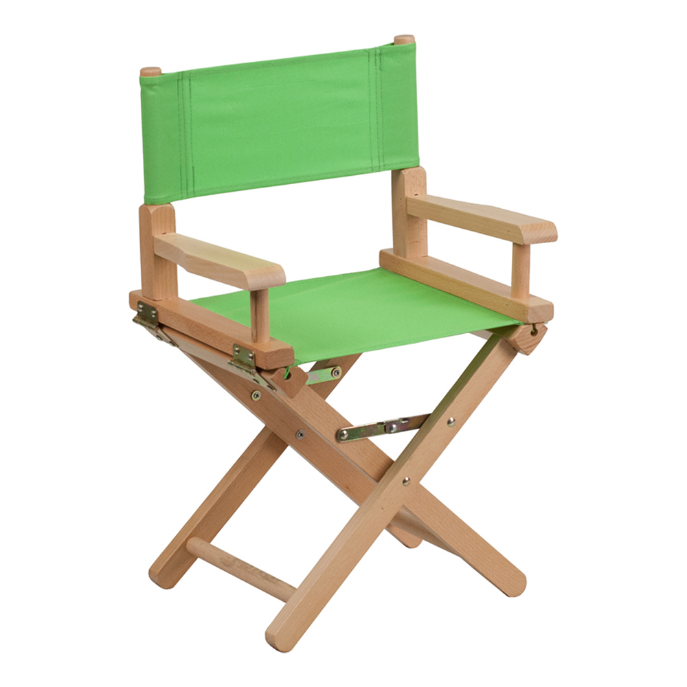 Offex Kid Size Directors Chair in Green