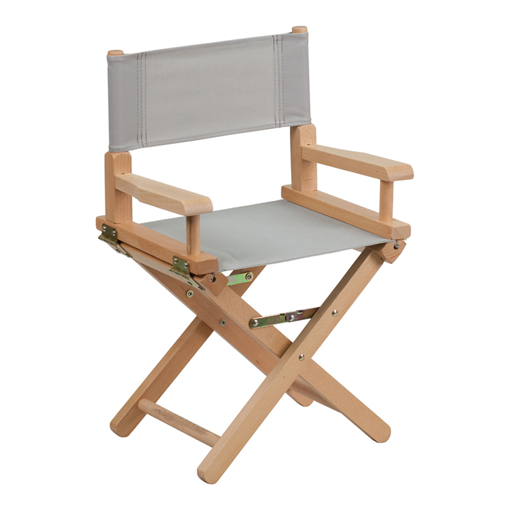 Offex Kid Size Directors Chair in Gray