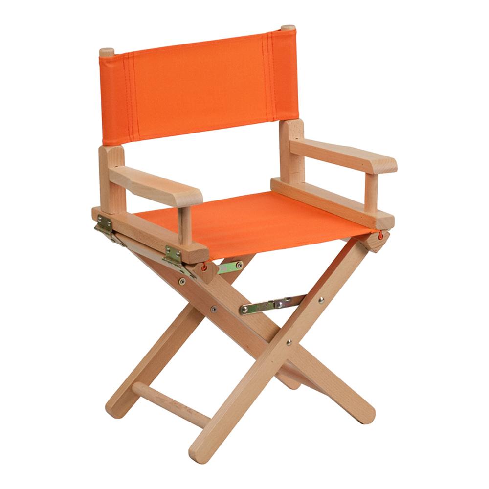 Offex Kid Size Directors Chair in Orange