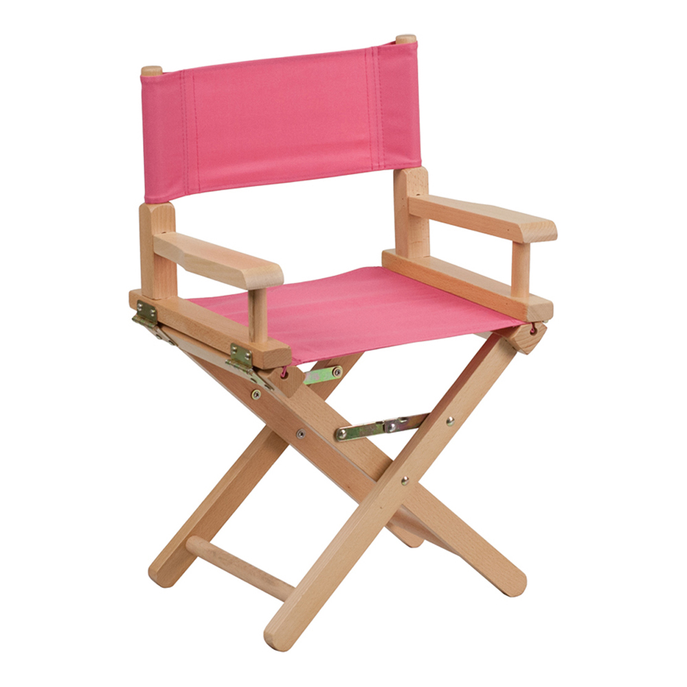 Offex Kid Size Directors Chair in Pink