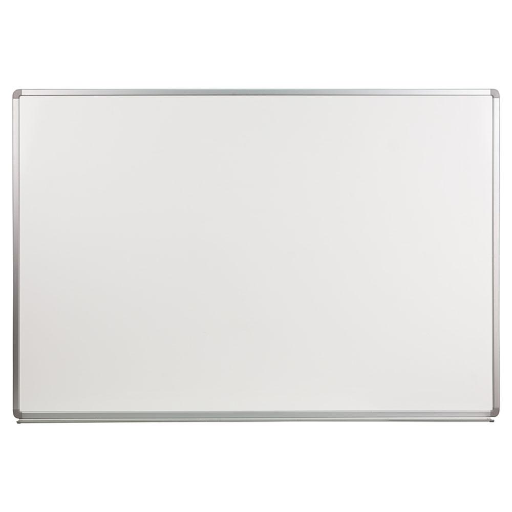 Offex 6' W x 4' H Porcelain Magnetic Marker Board YU-120X180-POR-GG