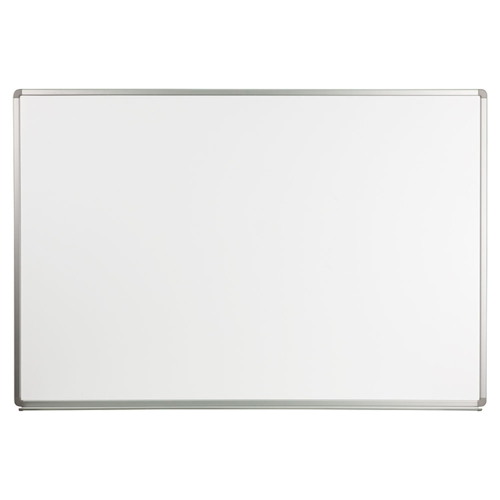 Offex 6' W x 4' H Magnetic Marker Board YU-120X180-WHITE-GG