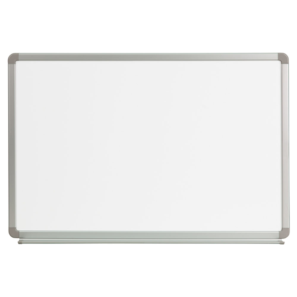 Offex 3' W x 2' H Magnetic Marker Board YU-60X90-WHITE-GG