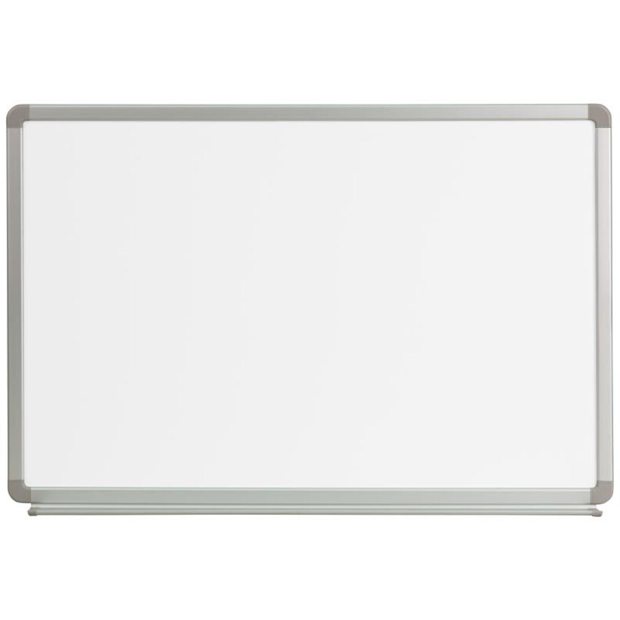Offex 3' W x 2' H Magnetic Marker Board YU-60X90-WHITE-GG