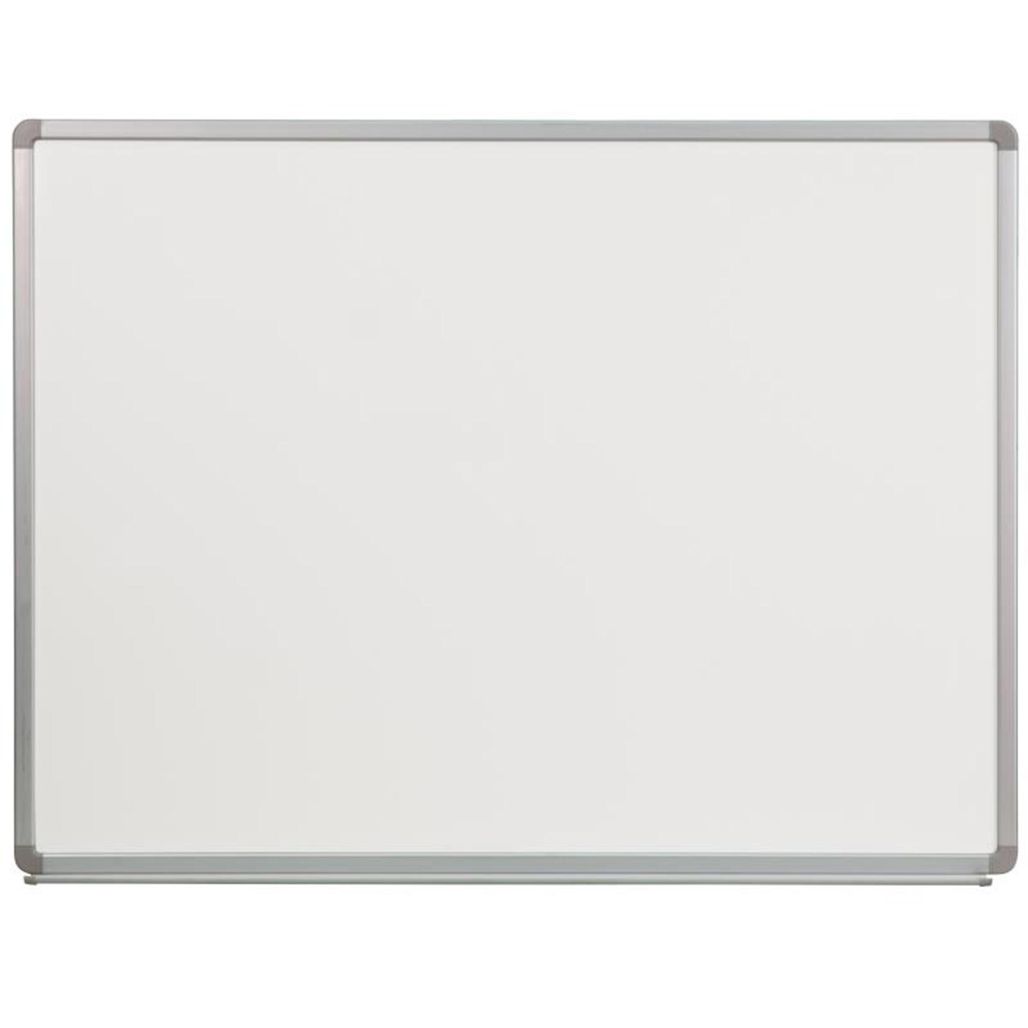 Offex 4' W x 3' H Porcelain Magnetic Marker Board YU-90X120-POR-GG