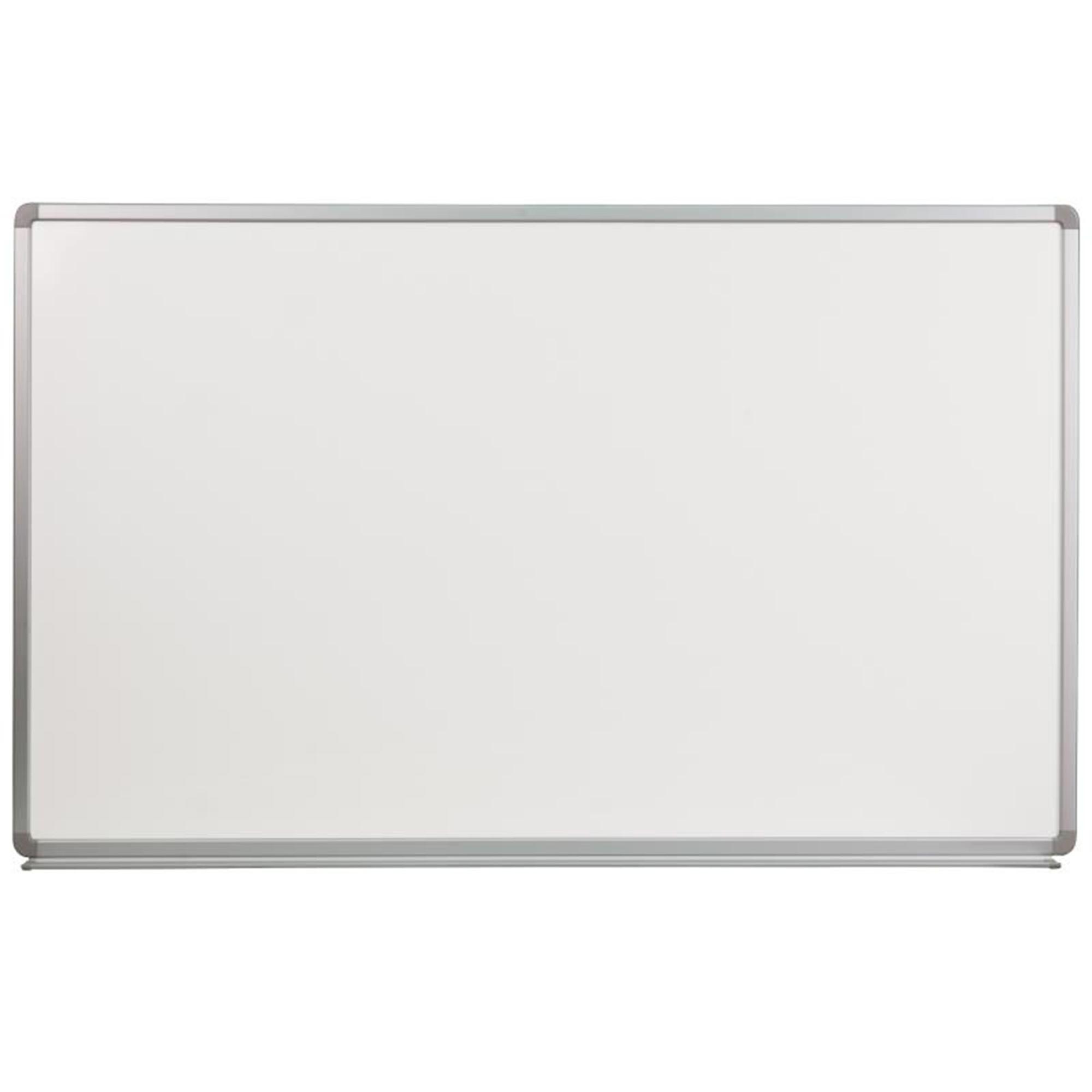 Offex 5' W x 3' H Porcelain Magnetic Marker Board YU-90X150-POR-GG