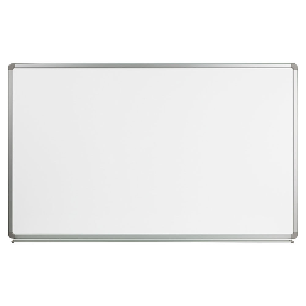 Offex 5' W x 3' H Magnetic Marker Board YU-90X150-WHITE-GG