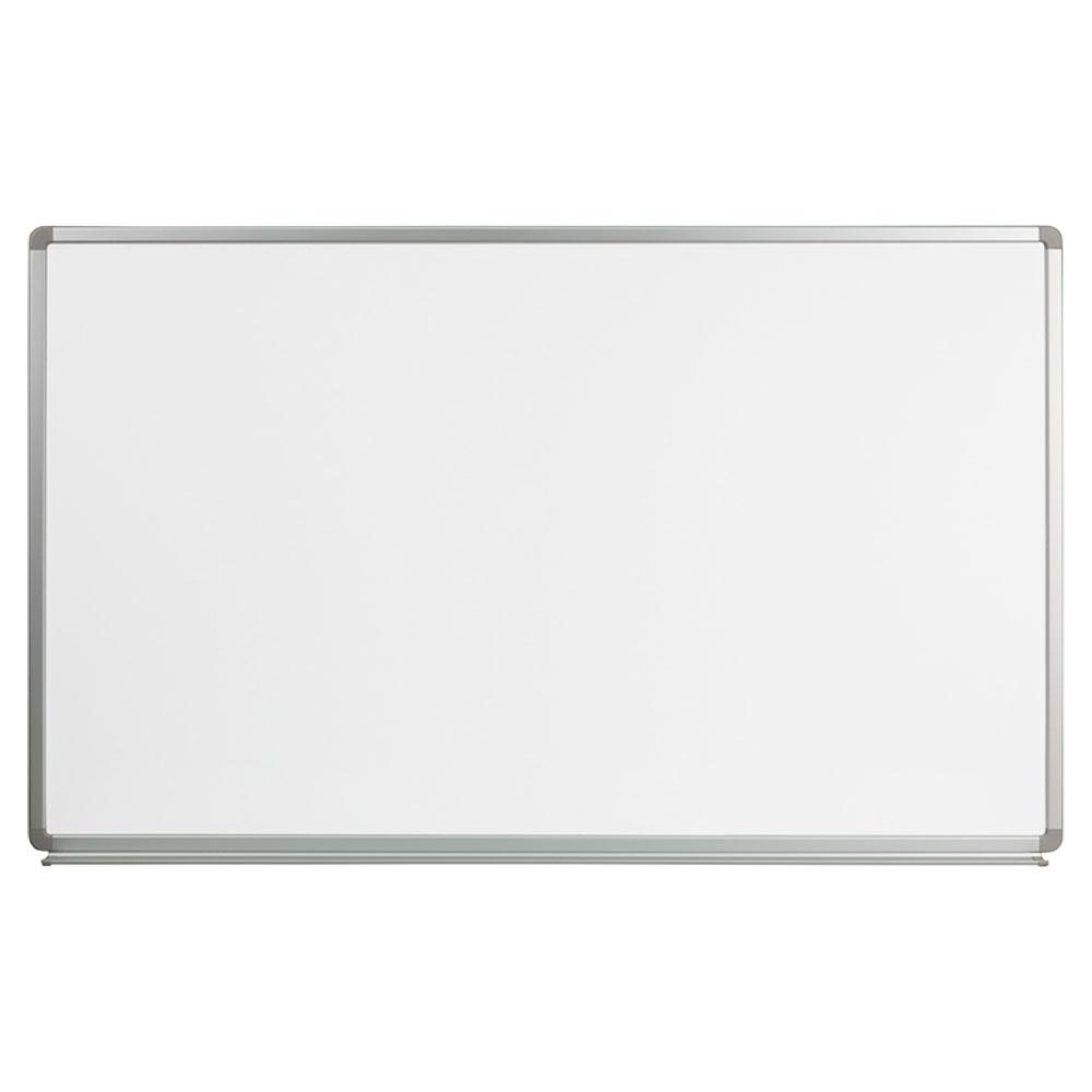 Offex 5' W x 3' H Magnetic Marker Board YU-90X150-WHITE-GG