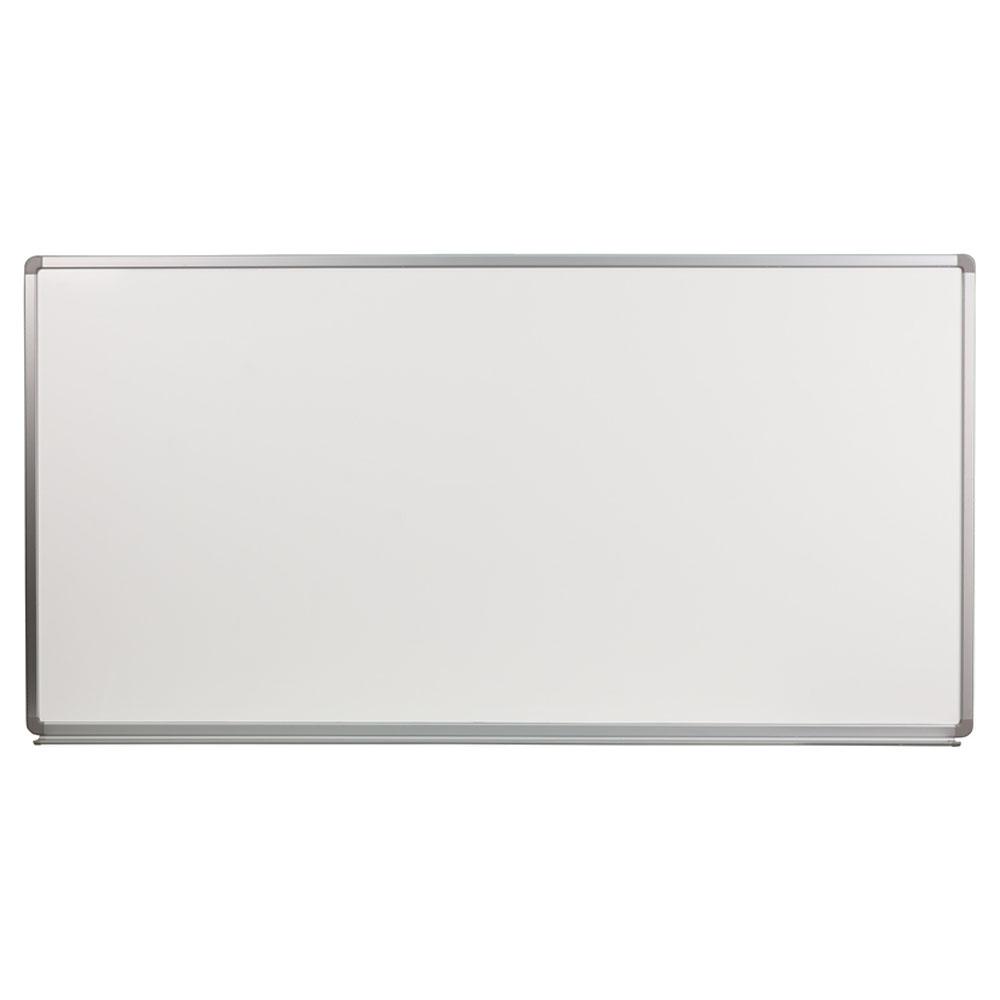 Offex 6' W x 3' H Porcelain Magnetic Marker Board YU-90X180-POR-GG