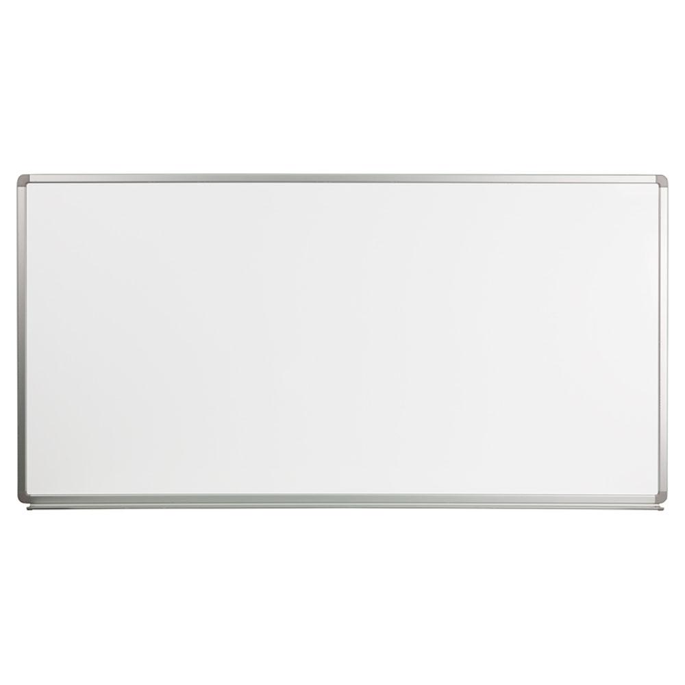 Offex 6' W x 3' H Magnetic Marker Board YU-90X180-WHITE-GG