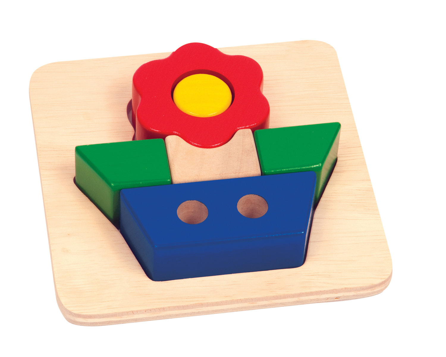 Guidecraft Primary Puzzle - Flower at Sears.com