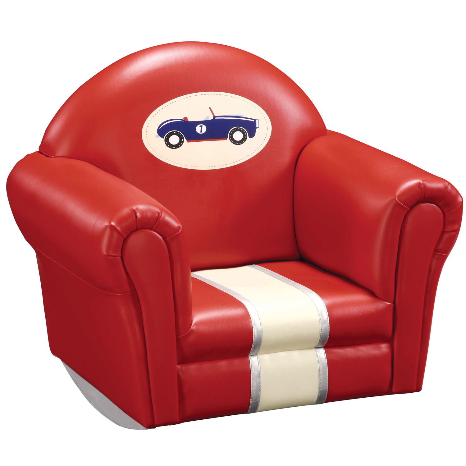 Guidecraft Retro Racers Upholstered Rocker at Sears.com
